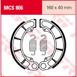Мото накладки TRW MCS806