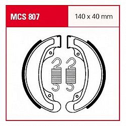 Мото накладки TRW MCS807