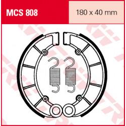 Мото накладки TRW MCS808