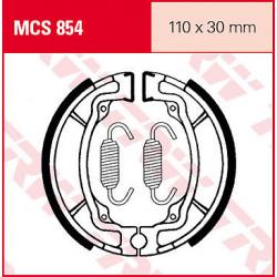 Мото накладки TRW MCS854