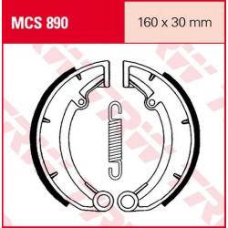 Мото накладки TRW MCS890