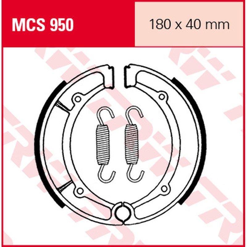 Мото накладки TRW MCS950 thumb