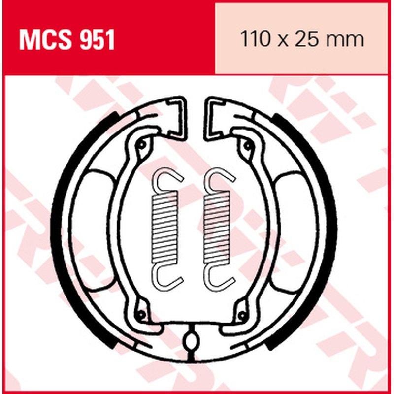 Мото накладки TRW MCS951 thumb