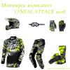 Крос комплект O'NEAL ATTACK BLACK/HI-VIZ 2 thumb