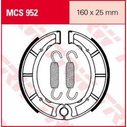 Мото накладки TRW MCS952