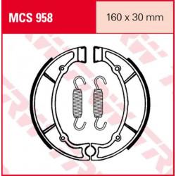 Мото накладки TRW MCS958