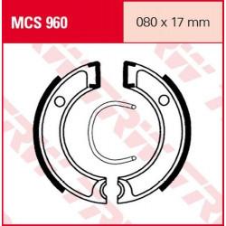 Мото накладки TRW MCS960