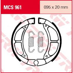 Мото накладки TRW MCS961
