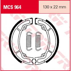 Мото накладки TRW MCS964