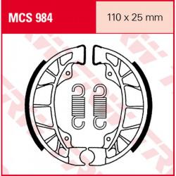 Мото накладки TRW MCS984
