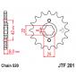 Предно зъбчато колело (пиньон) JTF281,15