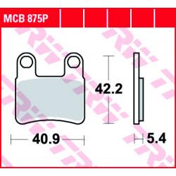Мото накладки TRW MCB875P