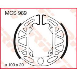 Мото накладки TRW MCS989