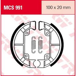 Мото накладки TRW MCS991
