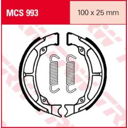 Мото накладки TRW MCS993