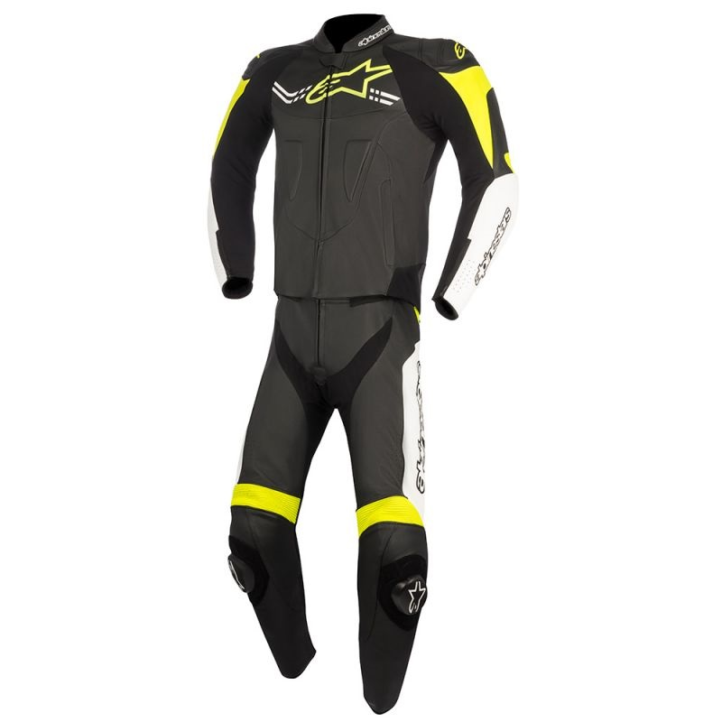Кожен екип ALPINESTARS CHALLENGER V2 2PC BLACK/WHITE/YELLOW