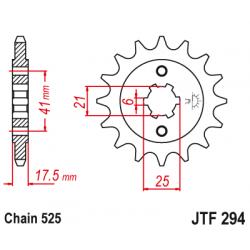 Предно зъбчато колело (пиньон) JTF294,14