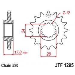Предно зъбчато колело (пиньон) JTF1295,14