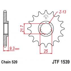 Предно зъбчато колело (пиньон) JTF1539,14