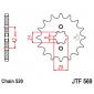 Предно зъбчато колело (пиньон) JTF569,13