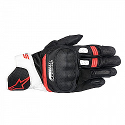 Кожени ръкавици ALPINESTARS SP-5 BLACK/WHITE/RED