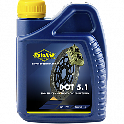 Мото спирачна течносто PUTOLINE Brakefluid DOT 5.1