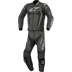 Кожен екип ALPINESTARS MOTEGI V2 2 PIECE BLACK/WHITE