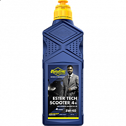 Скутер масло PUTOLINE Ester Tech Scooter 4+ 5W-40