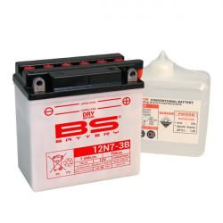 Мото акумулатор BS 12V - 12N7-3B