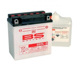 Мото акумулатор BS 12V - BB9L-B