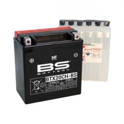 Мото акумулатор BS 12V - BTX20CH-BS