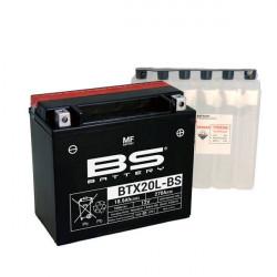 Мото акумулатор BS 12V - BTX20L-BS