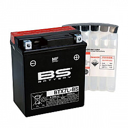 Мото акумулатор BS 12V - BTX7L-BS