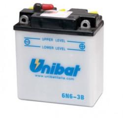 Мото акумулатор Unibat 6V - 6N6-3B