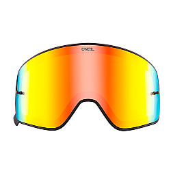 Магнитна плака за очила O'NEAL B-50 BLACK FRAME RADIUM/RED