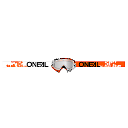 Мотокрос очила O'NEAL B-10 PIXEL ORANGE/WHITE/CLEAR