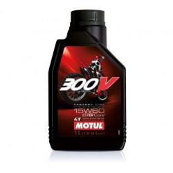 Мотокрос моторно масло MOTUL 300V 4T 15W-60  - 1 литър