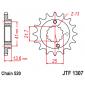 Предно зъбчато колело (пиньон) JTF1307,15