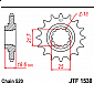 Предно зъбчато колело (пиньон) JTF1538,15