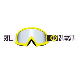 Мотокрос очила O'NEAL B-10 TWOFACE HI-VIZ/MIRROR-SILVER