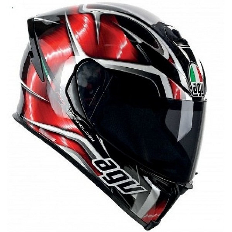 КАСКА AGV K5-S HURRICANE RED thumb