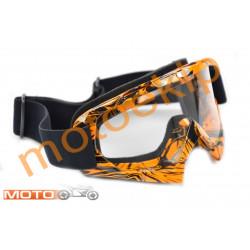 Мотокрос очила ORANGE А00027