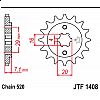 Предно зъбчато колело (пиньон) JTF1408,15 thumb