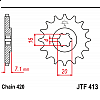 Предно зъбчато колело (пиньон) JTF413,11 thumb