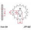 Предно зъбчато колело (пиньон) JTF422,13 thumb