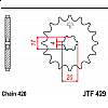 Предно зъбчато колело (пиньон) JTF429,14 thumb