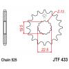 Предно зъбчато колело (пиньон) JTF433,16 thumb