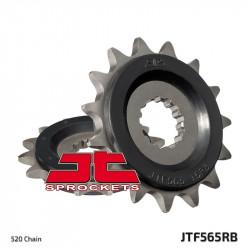 Предно зъбчато колело (пиньон) с успокоител за вибрации JTF565RB,16
