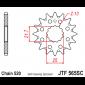Предно зъбчато колело (пиньон) JTF565SC,13