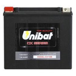 Мотоциклетен акумулатор UNIBAT CX16B 19Ah, 12V